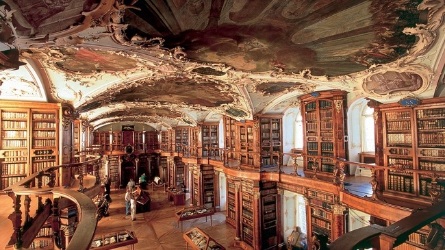 Abbey Library St. Gallen, Suiza