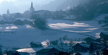 Val-d'Illiez in winter