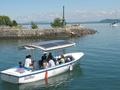 Solar energy boat trips « Sol-à-Flots », Grandon