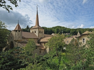 Abbatiale de Romainmtier -  Yves Henchoz