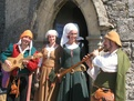 Mediaeval festival at the Castle of Grandson