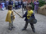 Fête médiévale populaire au Château