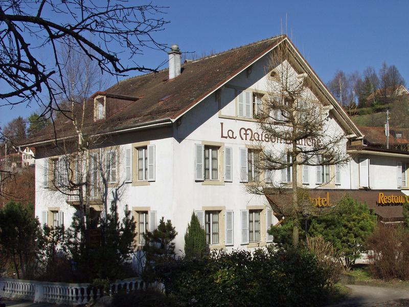 Yverdon les bains region jura lac suisse tourisme for 11 rue de la maison blanche