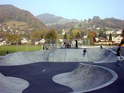 Skatepark alley oop toggenburg tourismus