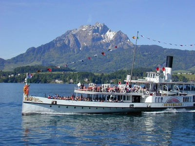 Dampfschifffahrt auf dem Vierwaldstttersee