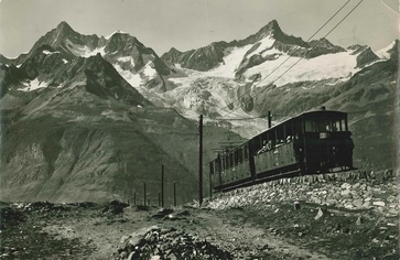 Gornergrat Bahn anno dazumal