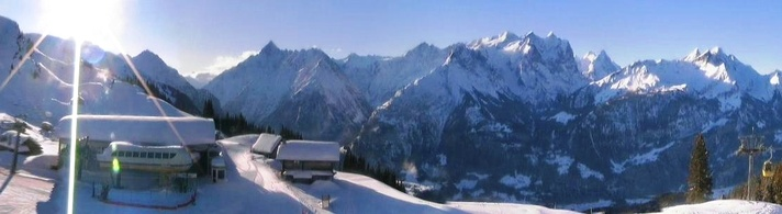 Balisalp im Winter
