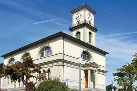 Aussicht vom Kirchturm Heiden