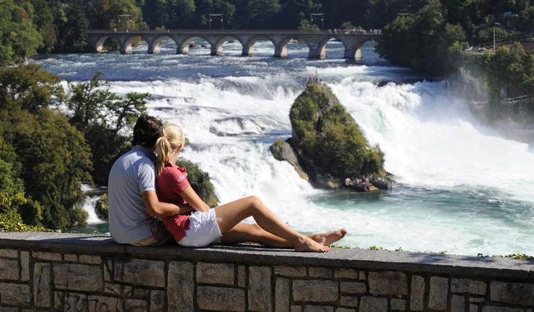 Rhine falls Best Places in Switzerland