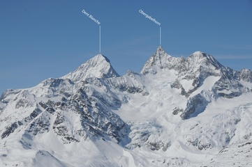 Dent Blanche und Obergabelhorn