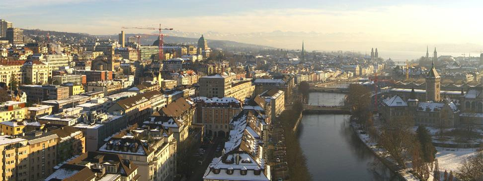 Zürich in Winter