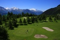The highest golf course in Europe