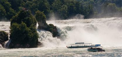 Rund um Zrich: Rheinfall