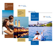 Brochures about Zurich