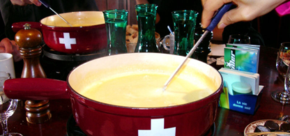 Cheese Fondue in Zürich