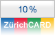 10% discount with ZrichCARD 