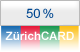 50% con ZrichCARD