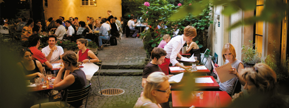 Open-Air-Restaurants