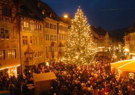 Märchenhafte Altstadt Stein am Rhein