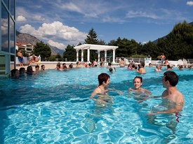 Thermal resort Saillon