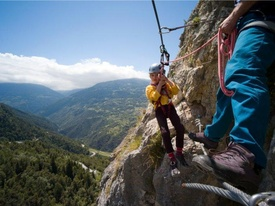 Hiking suggestion Via Ferrata Nax