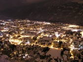 Congresses and seminars Martigny view by night