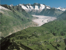 Congress and seminar Glacier of Aletsch and Riederalp