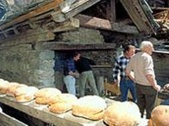 Local products oven in the Val d'Hrens
