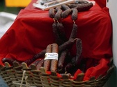 Produits locaux saucisses de Saas
