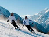Skifahren in Grchen