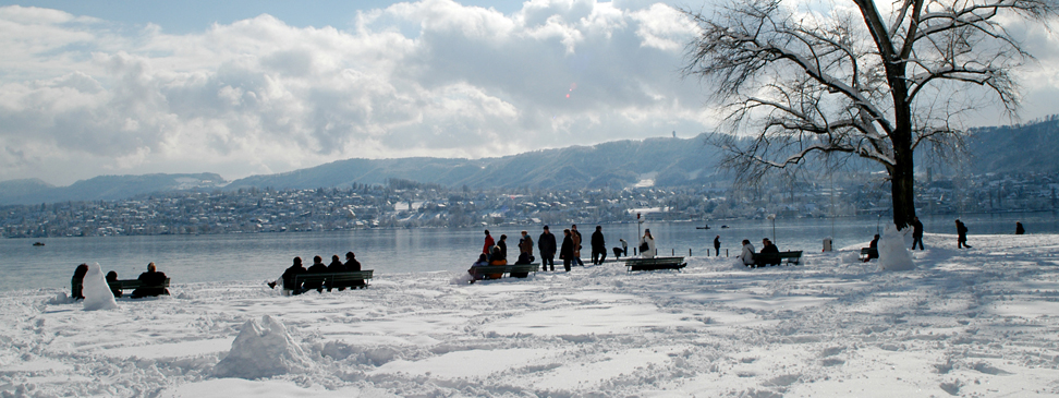 Winter magic in Zürich