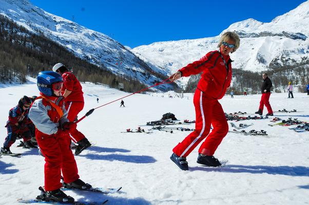 Skischule Saas-Almagell