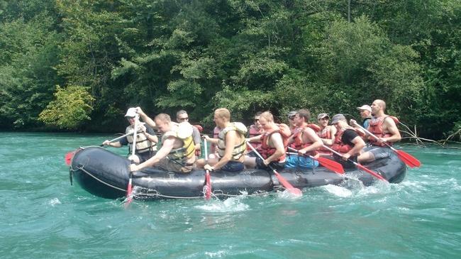 rafting en suisse