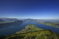 Aussicht von der Rigi