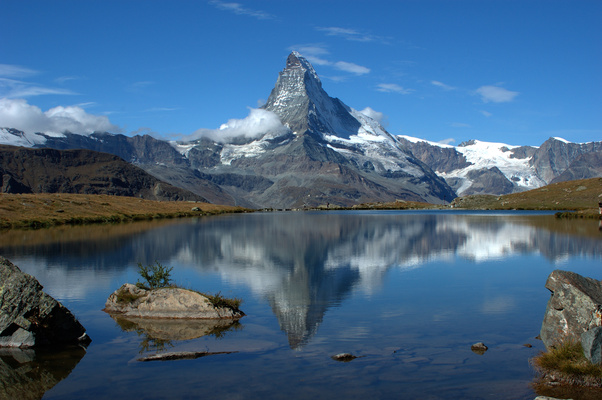 Riffelsee mit Matterhorn