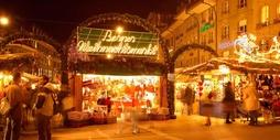 Weihnachtsmarkt auf dem Bärenplatz
