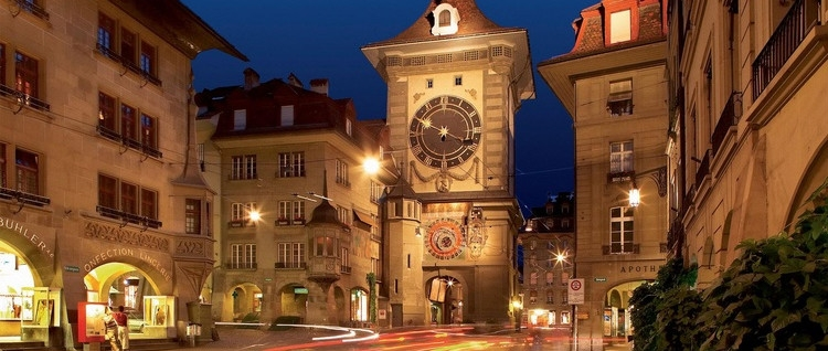 Like no other building in the Canton Bern the Clock Tower is at the center of the city of Bern.