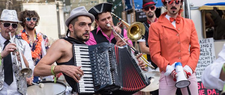 Buskers Street Music Festival