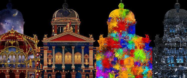 Rendez-vous Bundesplatz. Das Son & Lumière-Spektakel «Zeitreise im Paradies». 17. Oktober bis 30. November 2014