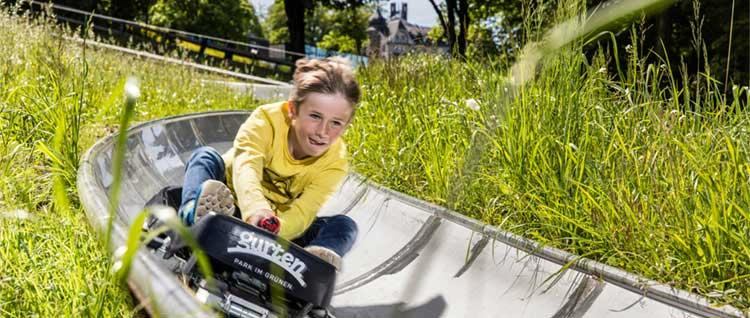 Rodelbahn auf dem Gurten www.gurtenpark.ch