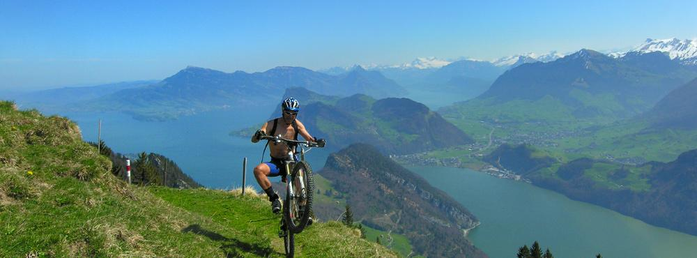 Mountainbike Lake Lucerne Region