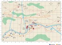Dorfplan Saas-Fee/Saastal