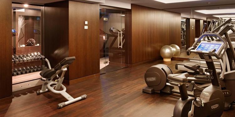 Fitnessraum im Hotel Schweizerhof Bern & THE SPA