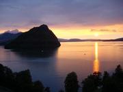 Sonnenuntergang, Vitznau