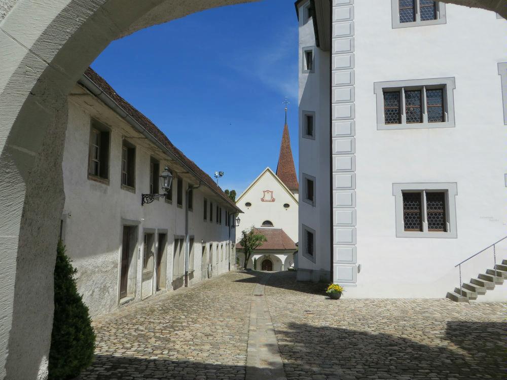 Innenhof Schloss Altishofen