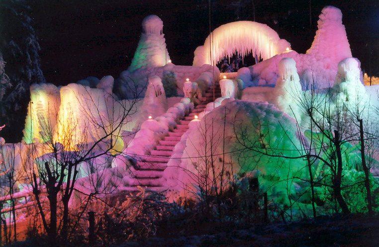 The ice palaces