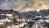 Winter time in Fribourg©Claude-Olivier Marti
