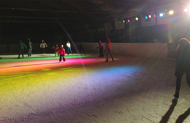 Disco on ice !