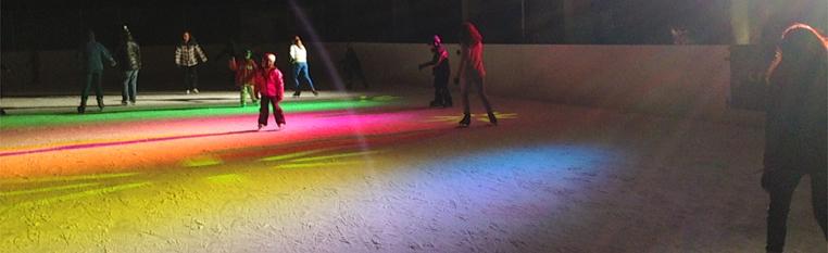Disco sur glace !