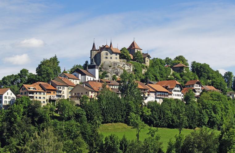 Rue, la plus petite ville d'Europe